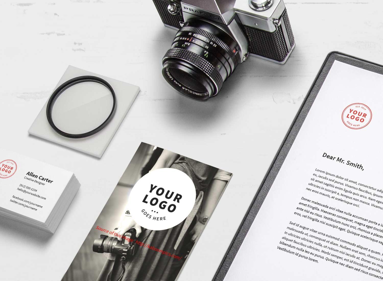 Marcel H Poirier Corporate Identity Design - Hvac invoice template free goyard online store